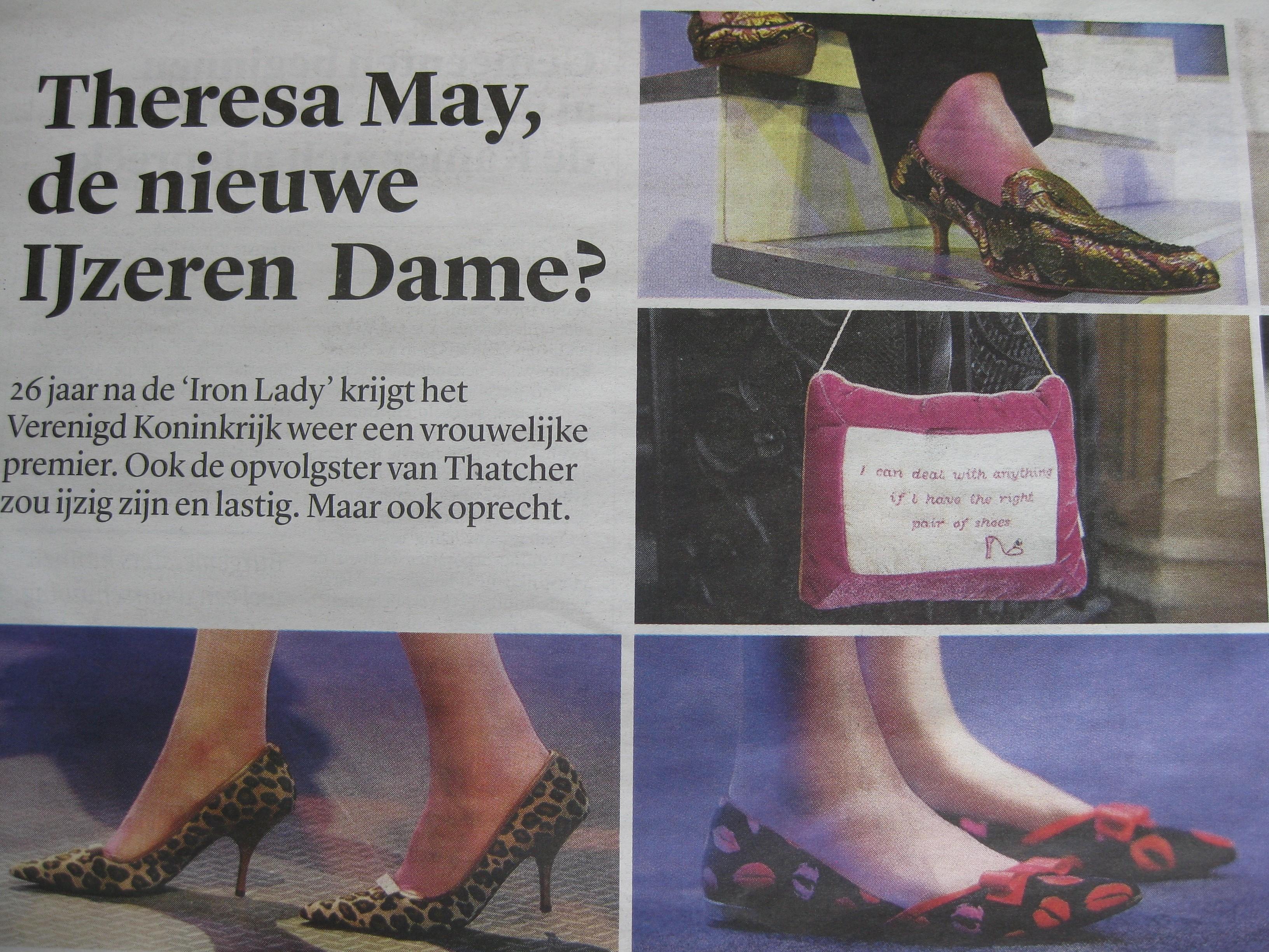 De schoenen van May
