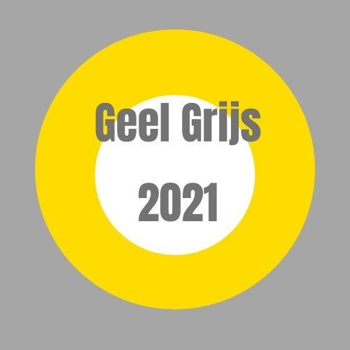 Pantone 2021 Geel & Grijs